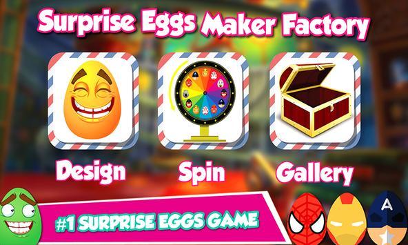 Surprise Eggs Maker Factory poster