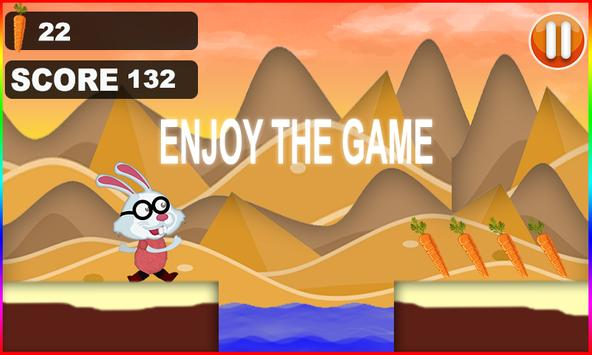 Bunny Run Jumping 3d screenshot 1