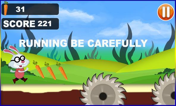 Bunny Run Jumping 3d screenshot 2