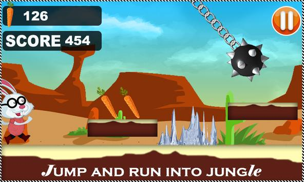 Bunny Run Jumping 3d screenshot 5