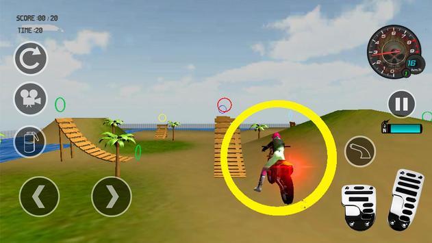Motocross Beach Stunt Jumping apk screenshot