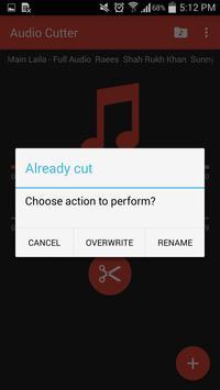 Audio Cutter screenshot 4
