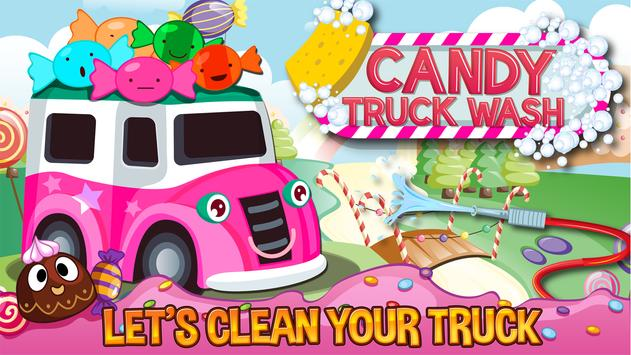 Candy Truck Wash poster