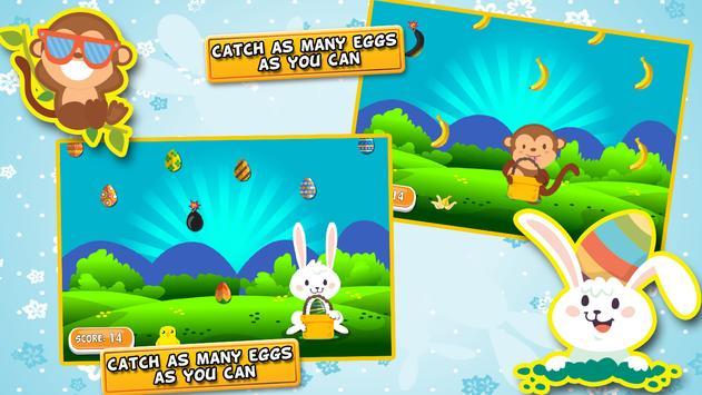 Egg Catcher - Fun Games screenshot 1