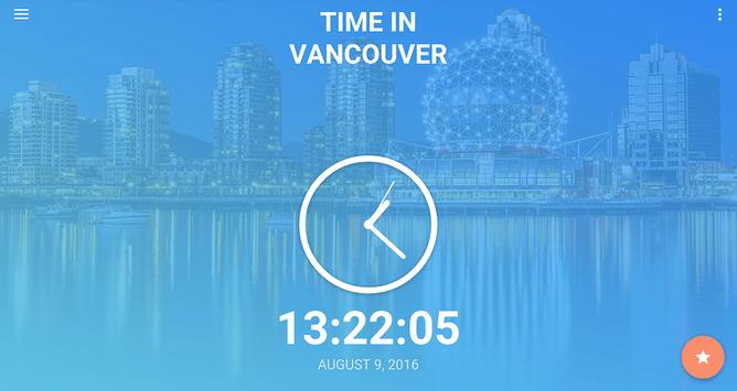 Time in Vancouver, Canada screenshot 5