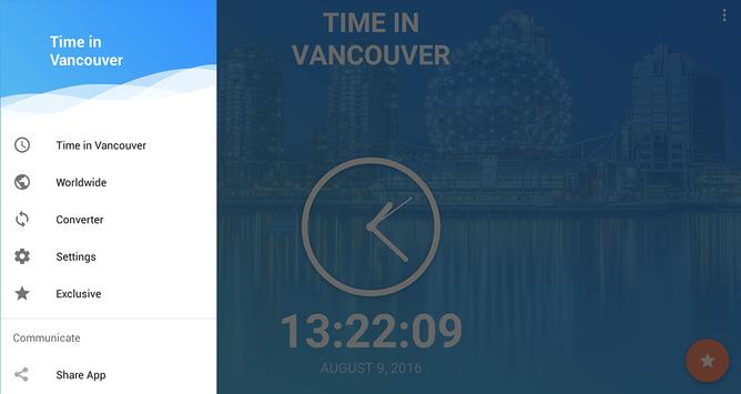 Time in Vancouver, Canada screenshot 6