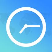 Time in Birmingham, UK icon