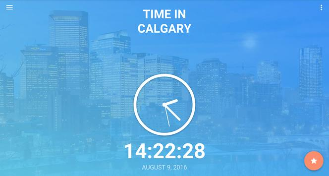 Time in Calgary, Canada screenshot 5