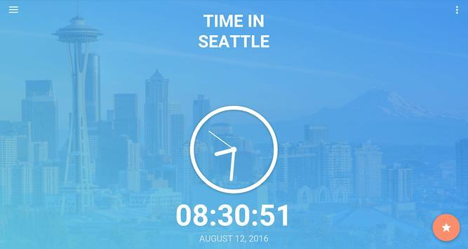 Time in Seattle,  USA screenshot 5