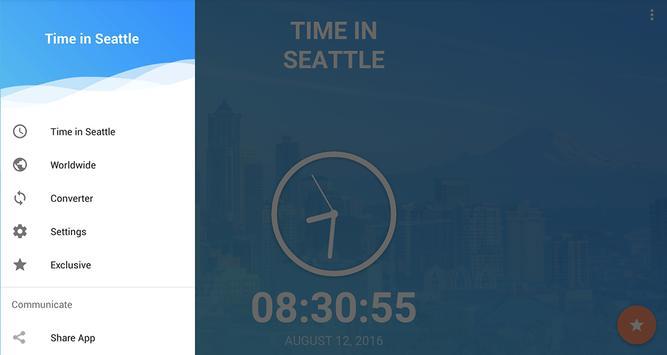 Time in Seattle,  USA screenshot 6