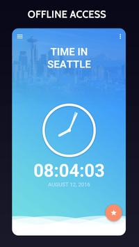Time in Seattle,  USA poster