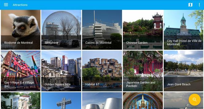 Montreal Travel Guide, Tourism apk screenshot