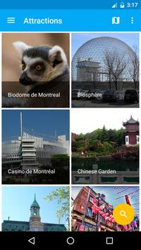 Montreal Travel Guide, Tourism poster