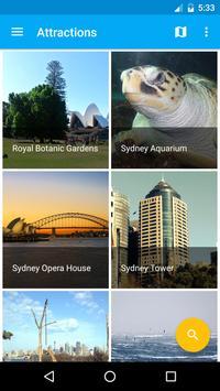 Sydney Travel Guide, Tourism poster