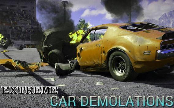 Real Car Demolition Race Derby poster