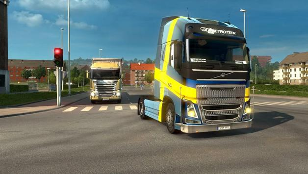 Euro Truck Simulator 2017 poster