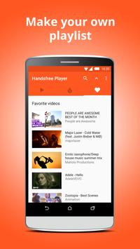 Handsfree Player for YouTube apk screenshot