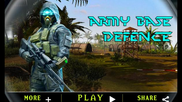 Army Base Defence poster