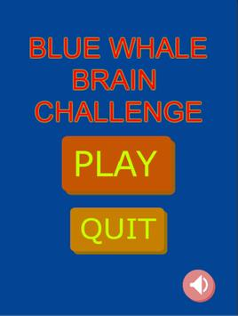 Blue Whale Brain Challenge Game poster