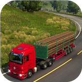 Truck Games : Real Wood Cargo Transporter 3D icon