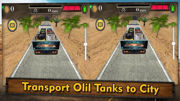 VR Arab Cargo Transporter 3D apk screenshot
