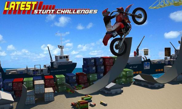 Trial Bike Extreme City Stunt Free 🏁 apk screenshot