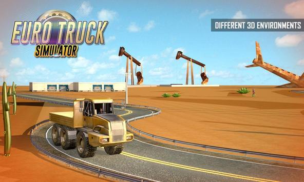Euro Truck Driving: Cargo Simulator 2020 screenshot 2