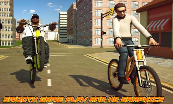 BMX Boy: City Bicycle Rider 3D poster