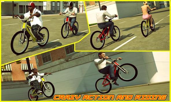 BMX Boy: City Bicycle Rider 3D apk screenshot