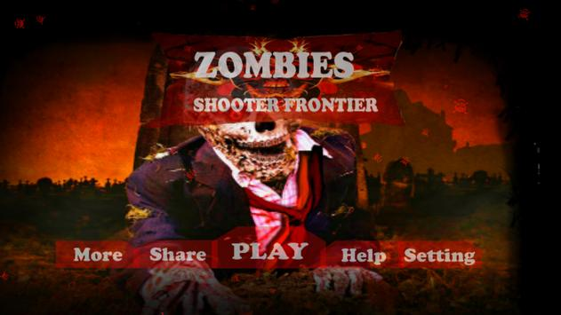 Zombie Shooter Frontier poster