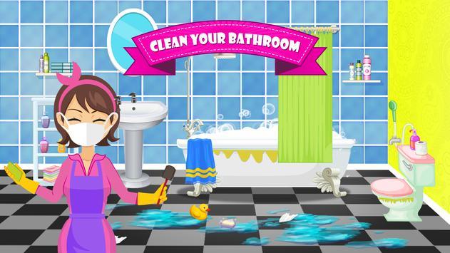 Badezimmer Reinigen Waschen Schmutzige Toilette Für Android APK - Badezimmer reinigen
