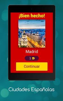 Adivina la ciudad española - Spanish Version apk screenshot