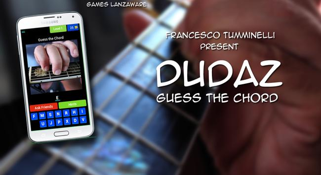 Dudaz - Guess the Chord poster