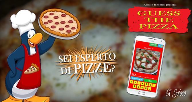 Indovina le pizze poster