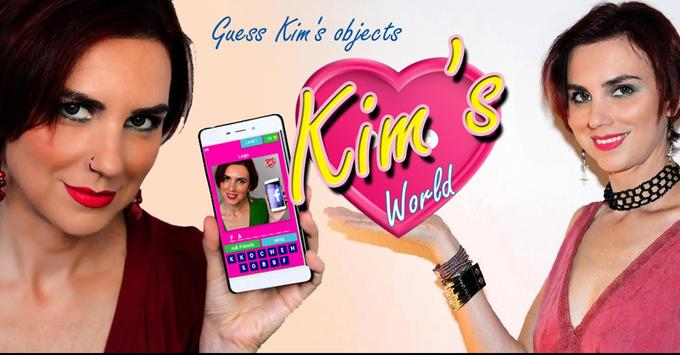Kim's World - Guess Kim's objects poster