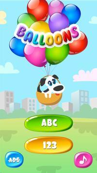 Balloons For Kids Free screenshot 4