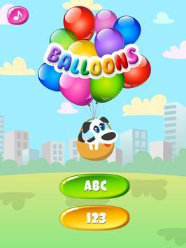 Balloons For Kids Free screenshot 8