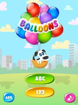 Balloons For Kids Free screenshot 10