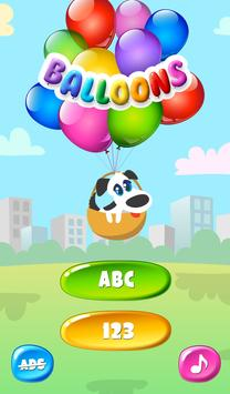 Balloons For Kids Free screenshot 16