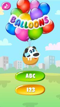 Balloons For Kids Free screenshot 2