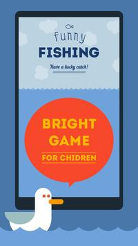 Sea fishing for kids poster