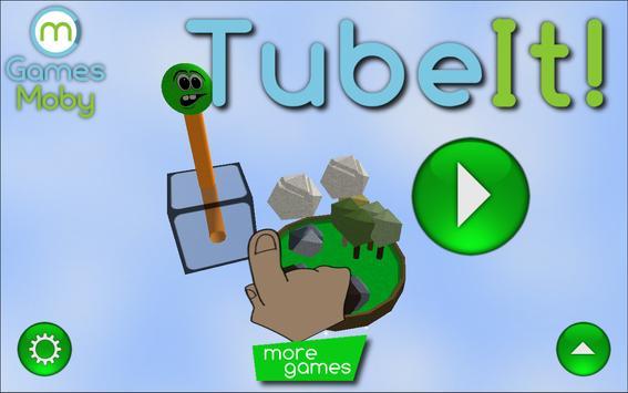 TubeIt! 3D Pipe Gravity Maze apk screenshot