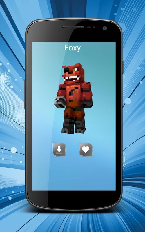 Skins Minecraft From Games Für Android APK Herunterladen - Foxy skins fur minecraft