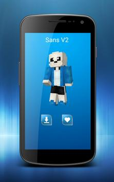 Skins Undertale For Minecraft For Android APK Download - Skin para minecraft pe de sans