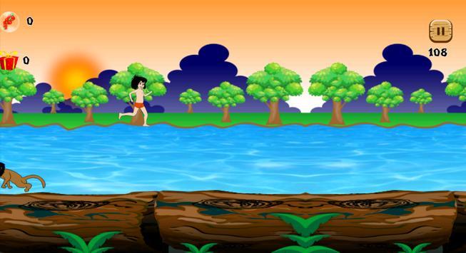 Jungle Mogli Adventure apk screenshot
