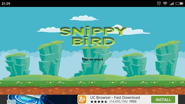 Snippy Bird poster