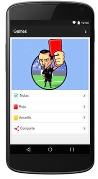 Arbitro de Futbol apk screenshot