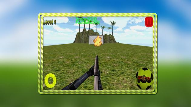Real Football Shooting screenshot 1
