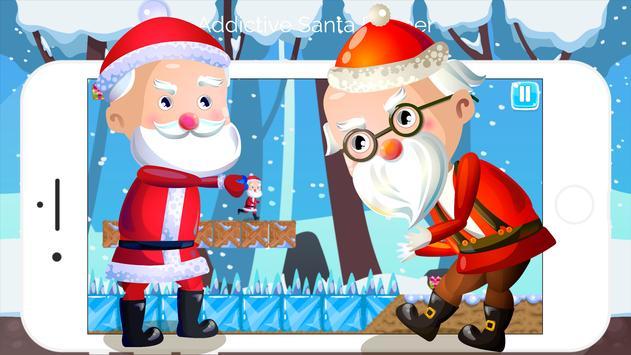 Run Santa Runner poster