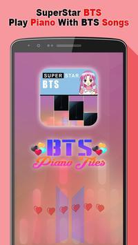 SuperStar BTS Piano poster